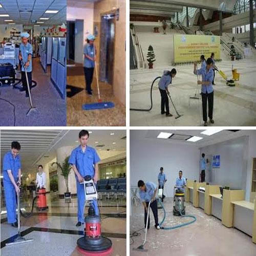 Dịch vụ vệ sinh công nghiệp - Vệ sinh mặt sàn