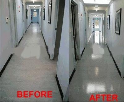 Dịch vụ vệ sinh công nghiệp - Đánh bóng sàn
