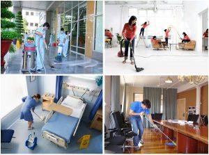 Sinh viên kiếm tiền nhờ dịch vụ vệ sinh công nghiệp