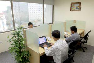 Cho thuê chỗ ngồi làm việc được đăng ký kinh doanh