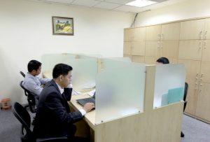 Cho thuê chỗ ngồi làm việc cố định quận Ba Đình