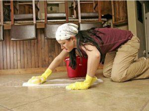 Cách làm sạch bóng sàn nhà hiệu quả