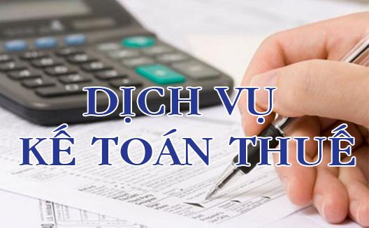 Dịch vụ kế toán thuế tại Hà nội và TPHCM