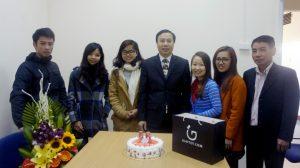 Sinh nhật Tổng Giám Đốc năm 2016